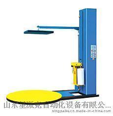 江苏加压式缠绕膜机徐州压顶缠绕机化纤缠膜机