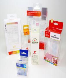 化妆品透明0.3mm PET胶盒包装