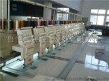 12头高速电脑绣花机多头刺绣机刺绣范围400&700mm鲁悦厂家直销