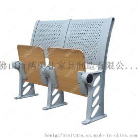 广东厂家生产订做铝合金阶梯教室课桌椅