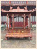 四川寺庙长方形香炉生产厂家|成都圆形香炉铸造厂家