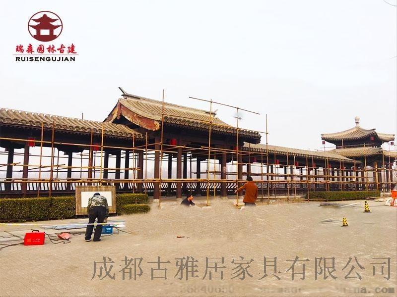 四川成都游廊走廊厂,家古建游廊定制安装