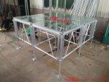 工廠生產有機鋼化玻璃舞臺