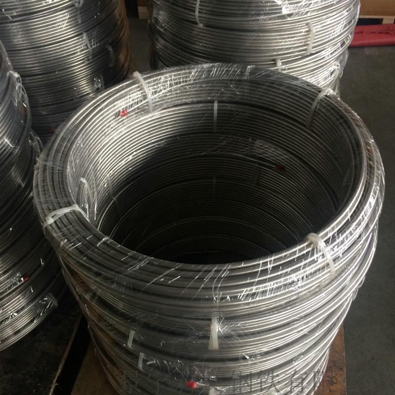 304 12x0.8 超長冷拔不鏽鋼盤管(無縫)