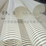 pu塑筋波紋伸縮螺旋管木工機械吸塵軟管廠家批發