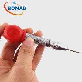 超强钢质3-5mm玻璃膜质破碎测试笔,钢化玻璃冲击笔