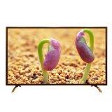 最新古銅金豪華款85寸超清帶鋼化玻璃液晶電視機新品上市