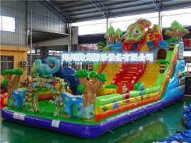2017年**的大型充气玩具 广场儿童充气城堡