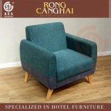 真实在欧式布艺单人沙发酒店咖啡馆西餐厅实木卡座沙发椅