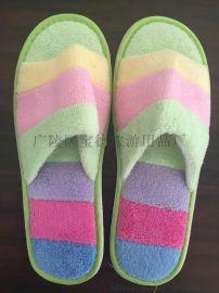 一次性拖鞋批发 毛巾布拖鞋定制