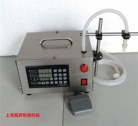 小型全自动数控液体灌装机 酒水饮料牛奶定量灌装机