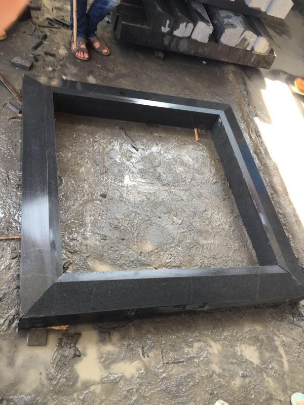 厂家直销花岗岩芝麻白芝麻灰石材树池石树围石坐凳