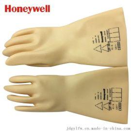 霍尼韦尔(Honeywell) 高性能天然防电乳胶 电工绝缘手套 1kv 米色 2091907 9码/10码