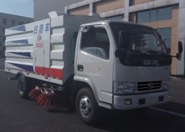 東風掃路車廠家|4方程力掃路車
