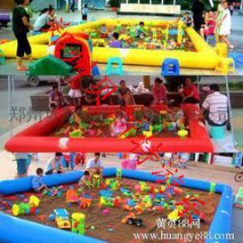 河南充气沙滩池厂家更多的好玩的沙滩玩具