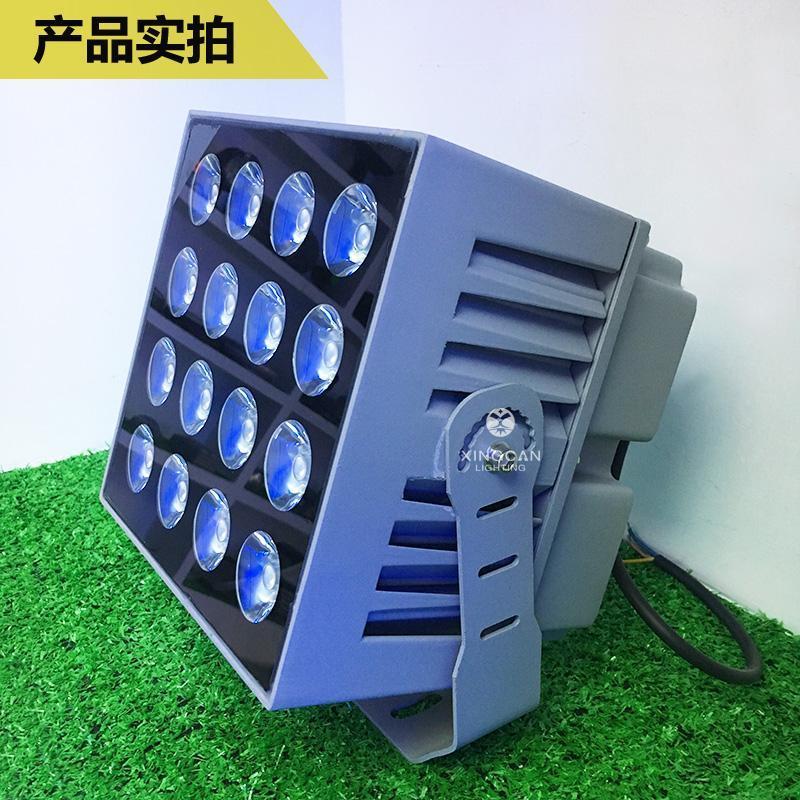 新款热卖 LED罗马柱投光灯 建筑外墙洗墙投光灯 户外防水一束光投射灯 窄光束投光灯