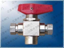 CNG天然气高压三通球阀