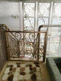 七福定制QF0333不锈钢楼梯