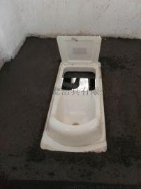 农村改厕便器 粪尿分集式蹲便器 新型旱厕改造技术