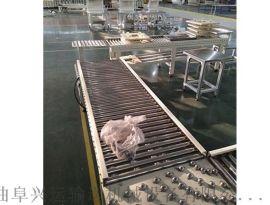 伸缩辊筒输送机铝型材 线和转弯滚筒线