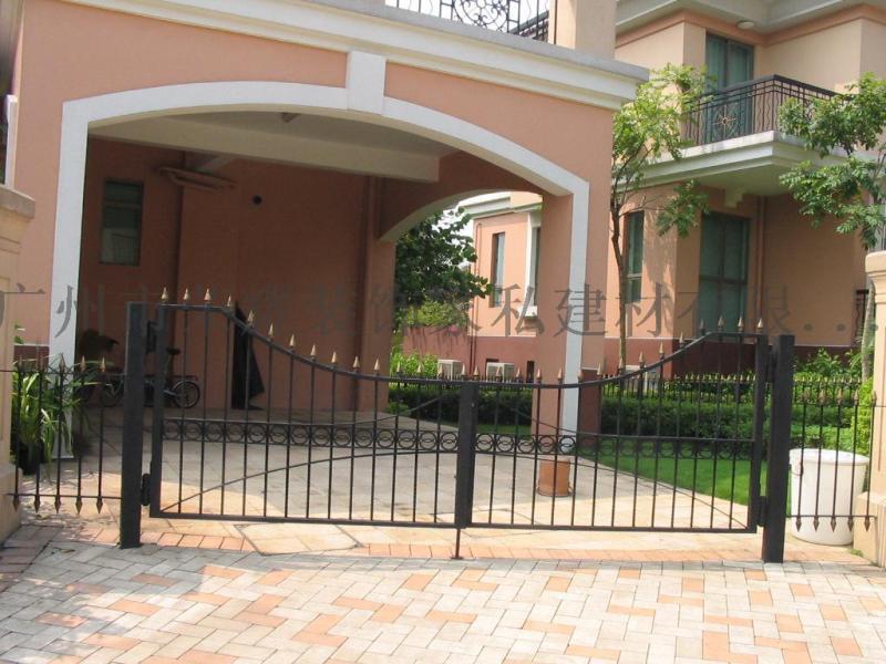 别墅大门、铁艺庭院 大门、铁大门