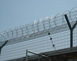 监狱隔离网 监狱钢网墙 监狱防护网的设计与安装施工