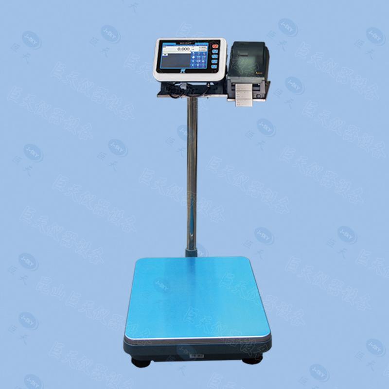 巨天智慧電子檯秤 帶標籤列印同時可儲存稱重資料的智慧電子稱