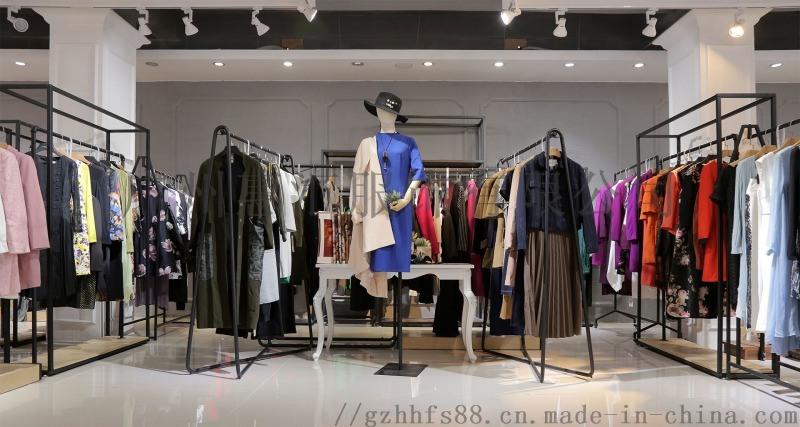 广州品牌乔帛18年秋冬装品牌女装 专柜正品尾货走份