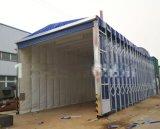 伸缩式喷漆房废气处理设备厂家,晨冠移动式伸缩喷漆房