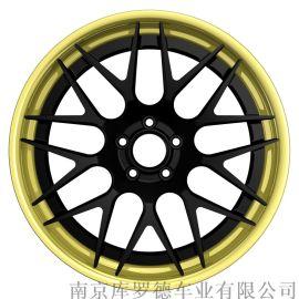 沈阳豪车22寸两片式锻造铝合金轮毂