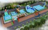湖南懷化大型支架游泳池水上遊樂園
