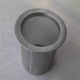 金属网编织网管 不锈钢锥形过滤筒厂家