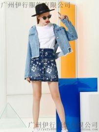 廣州潮牌服裝尾貨YDG品牌折扣女裝貨源在哪裏進貨