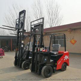 功众电动推高叉车 前移式电动堆高车操作简便