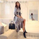 婭迪斯琪品牌女裝廠家直銷 天津女裝批發品牌折扣店尾貨黃色打底褲