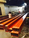 厂家供应各种型号木纹型材铝方通