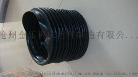 沧州金乐专业定做缝合式圆筒式防护罩 伸缩式护罩