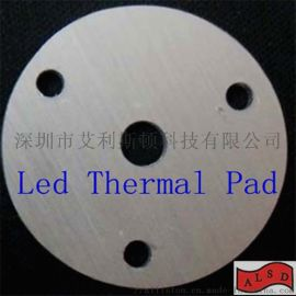 CPU导热硅胶垫片 定制模切 散热矽胶软片厂家