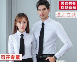 女士衬衫2019秋冬新款 长袖打底上衣韩版职业装厂家批发女装衬衣
