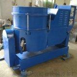 供应120升红色进口PU胶内衬高速硅胶涡流研磨机