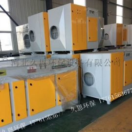 uv光氧设备适用在橡胶厂喷漆房有臭味的场所