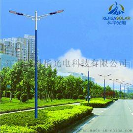 8米双臂灯杆乡村道路专用双臂LED 市电路灯