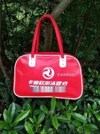 订制PU皮大容量旅行包运动健身包工厂