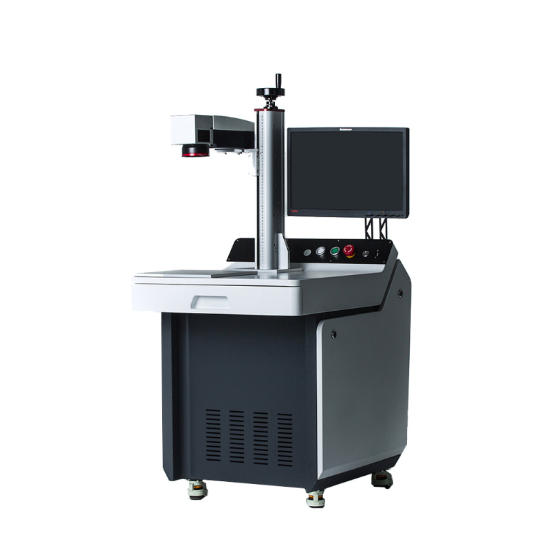 MOPA 射打標機 不鏽鋼打彩色 氧化鋁打黑