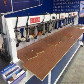 集成墙板  设备自动公母槽开槽机