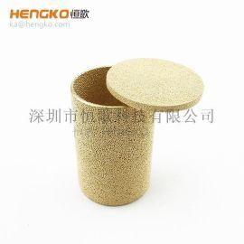 恒歌工厂设计生产铜微米滤筒耐高温耐腐蚀结构稳定