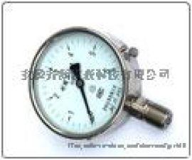 耐酸压力表YTS-100、150耐酸不锈钢压力表