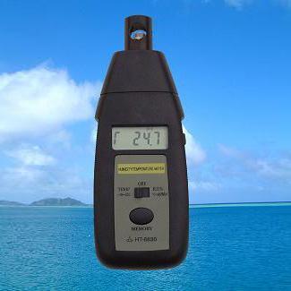 數位溫溼度計,溼度表HT6830