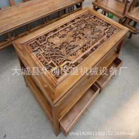 供应密度板雕刻机 电脑绘图裁板寿材 棺材雕刻机
