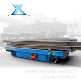 机电设备车间轨道车低压轨道不锈钢型材过跨车间转运轨道车